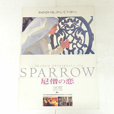 Sparrow Japan Movie Program 1993 Angela Bettis Franco Zeffirelli