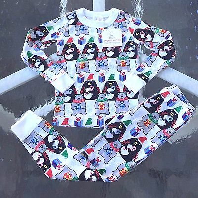 HANNA ANDERSSON Boy's - Girls Cotton BERRY MERRY Pajama Set,4 years,100 NWT! WOW
