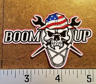 Ironworker stickers by BOOM UP