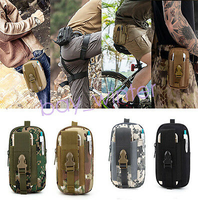Multifunction Outdoor Tactical Holster Military Molle Hip Waist Bag Wallet Pouch
