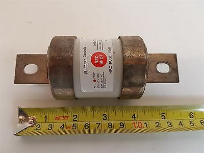 GE TKF315A Red Spot Fuse Link 660VAC 80kA Gg 460VDC 40kA Center Tag 315A New