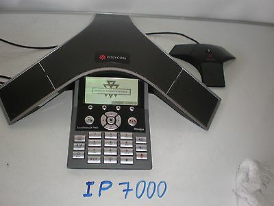 Polycom Soundstation IP 7000 Conference Phone 2201-40000-001 No Power Supply