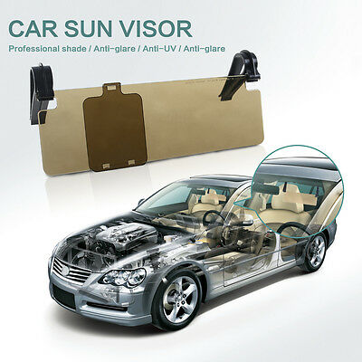 Car Anti-Glare Dazzle Goggle Mirror Day/Night Driving Sun Visors Extension Kit