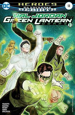 Hal Jordan And The Green Lantern Corps #13 2017 DC Comics Rebirth