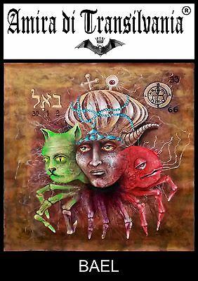 Solomon key ars goetia kabbalah demons seals zohar Bael demon lemegeton seal art