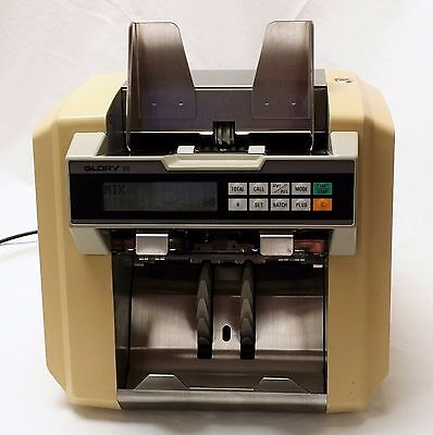 Glory GFR-100 Currency Counter Sorter Bill Discriminator Counterfeit Detection