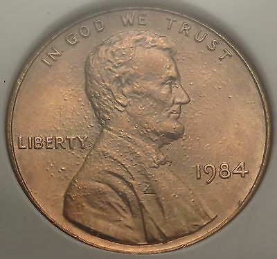 NGC MS66RD DOUBLED EAR 1984 Lincoln Memorial Cent ~ Neat 1c Variety
