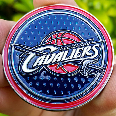 PREMIUM NBA Cleveland Cavaliers 2016 Champion Poker Card Guard Coin Golf Marker