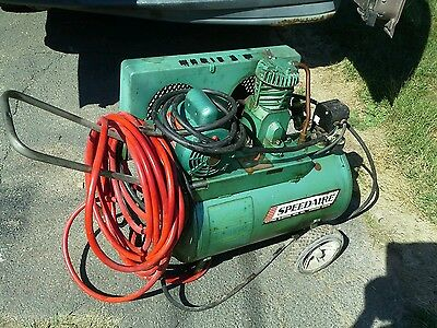 Speedaire  / DAYTON  COMMERCIAL AIR  compressor  WITH HOSE , LOCAL PICK ONLYU