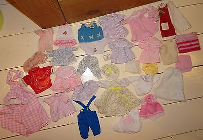 Vintage Dolls Clothes Bundle Job Lot Vintage Sindy Barbie Amanda Jane