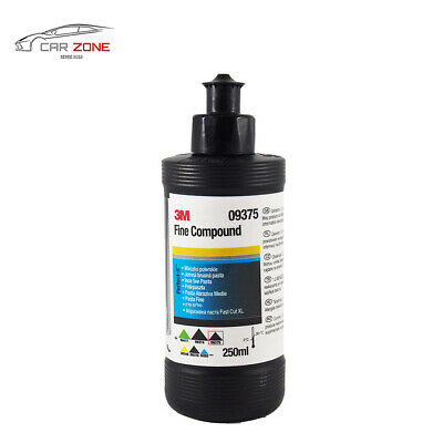 3M Perfect it III Fine Polishing Compound 09375 (250 ml / 8.45 us fl. oz) Black