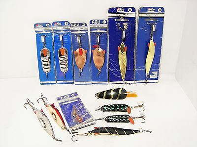 Vintage Collection Abu Sweden Lures - Carded & Unused - Toby - Fat Toby - Atom