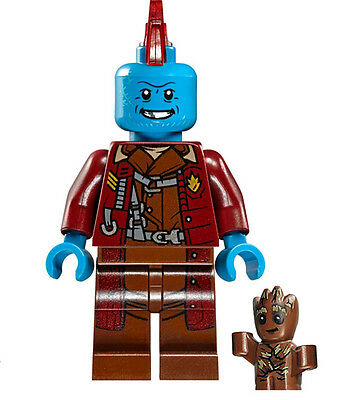Minifigures Heroes Yondu Guardians of the Galaxy 2 Michael Rooker Building Toys
