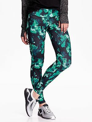 Old Navy Go Dry Mid Rise Printed Compression Legging - #597