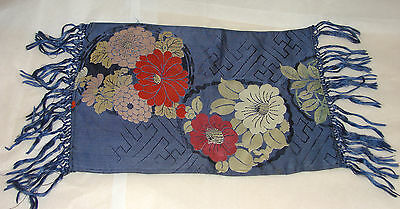 "Vintage SILK Japanese - FINEST QUALITY 1940's Table, never used 15"" x 12"""
