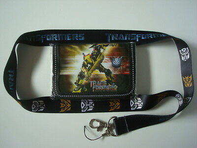 LOT New*TRANSFORMERS* Kids Wallet + Lanyard/Cell Phone Strap BUMBLE BEE (S/C)