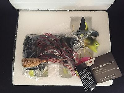 Cow Parade Wizard of Oz Udderly Witched Cow Figure New in Box