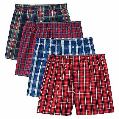 Fruit of the Loom Select Men's Boxer 4 Pack 100% Cotton
