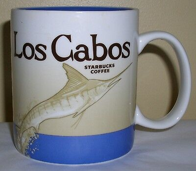 Starbucks Global Icon Collector Series Mug Los Cabos, Mexico,  New With Tags