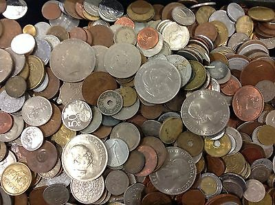 Exceptional Wholesale Lot 8 Lbs Mixed Foreign World Coins! Assorted Countries