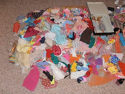 Large Lot of Vtg Barbie Dolls, Clothes, Accessories - 1961 and 80's