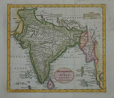 Hindoostand Or India From The Best Authorities, Circa 1820.