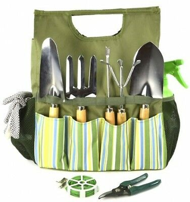 Plant Theatre Essential Garden Tool Bag Includes Tools Gift for the Gardener