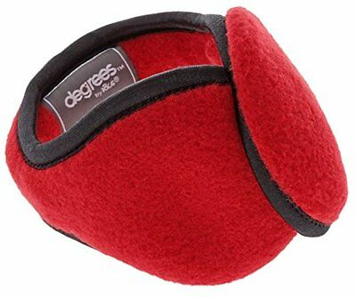 Degrees By 180s Women Ear Warmers (Behind the Head Design) - RED COLOR