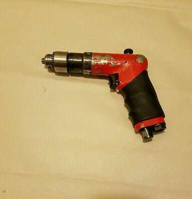 """Sioux DR1410R palm reversible drill 2000rpm 1/4"""" chuck aircraft tools"""