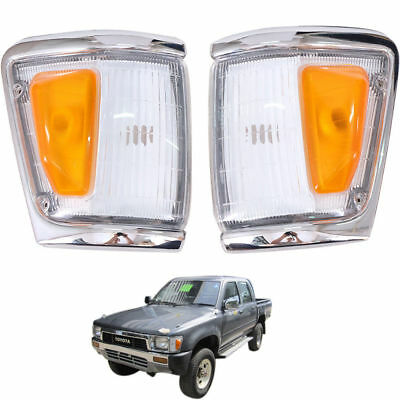 FIT 88-97 Toyota Hilux Indicator Signal Corner Lamp Light Ln106 4Wd Pick-up Pair