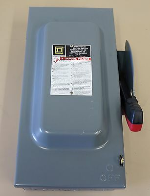 Square D H362 Heavy Duty Safety Switch 60A 600V Fusible