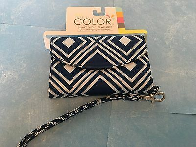 ALL FOR COLOR  Smart Phone ID Wristlet IPhone 5 & 4/4s NEW