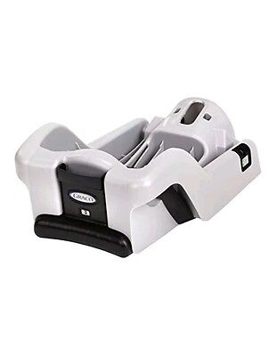 Graco SNUGRIDE 30 35 CLASSIC CONNECT Extra Infant CAR SEAT BASE Silver/Black NEW