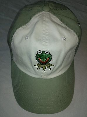 Muppets Kermit The Frog Hat Cap AMERICAN NEEDLE Single-snap 100% Cotton