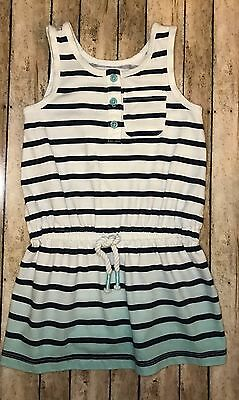 NWOT Carter's Striped Sleeveless Tunic Top,Toddler Girls Size 5