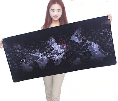 Super Large 100cm*50cm World Map Speed Game Mouse Pad Mat Laptop Gaming Mousepad