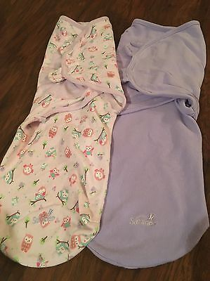 Swaddle By Summer Wrap, Size Large (4-6M), Lot of 2