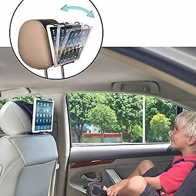 TFY Universal Car Headrest Mount Holder with Angle- Adjustable Holding Clamp ...