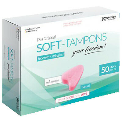 JOYDIVISION 50er Packung Soft-Tampons Normal