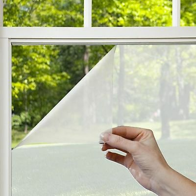Gila Window Films PFW486 Privacy Residential Window Film Frosted 48-Inch by 6...
