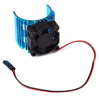 For 540 550 3650 Motor For 1/10 RC Car Aluminum Heat sink With 5V Cooling Fan