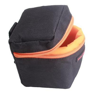Universal DSLR Camera Lens Insert Soft Protector Carry Case Bag Pouch Kit LH