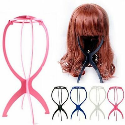 Uk Seller-Wig Stand Display Mannequin Dummy Head Hat Holder Foldable Stable Tool