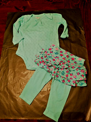 Garanimals Infant Baby Girl's Outfit Size 3-6 Months New!