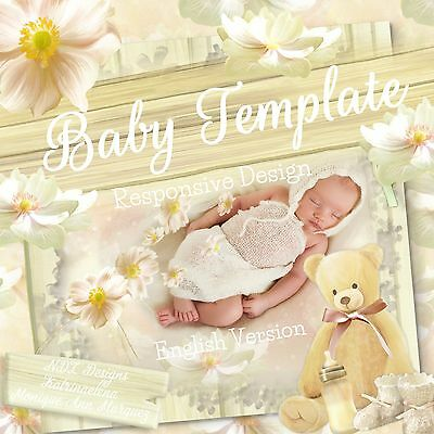 Baby Reborn ~ Auction Listing Template Mobile Responsive Policy Compliant |556/E