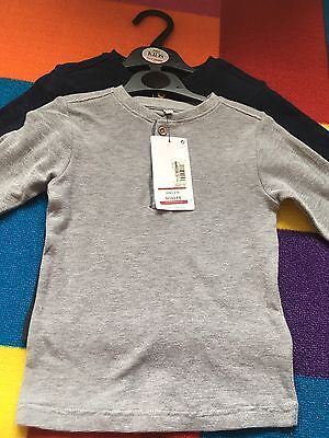 M&S 18-24 Months Boys Long Sleeved Shirts