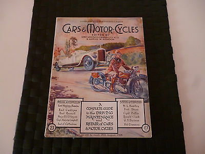 Cars & Motorcycles Lord Montagu Of Beaulieu Part 23 August 11 1928 *amazing*