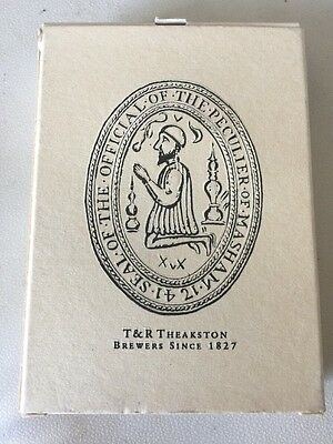 Theakston Brewing Historical Playing Cards - RARE - Ref - TD1U Box 67