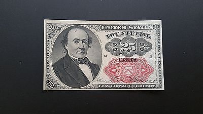 1874 Fifth Issue 25 Cent  Fractional Currency Uncirculated !