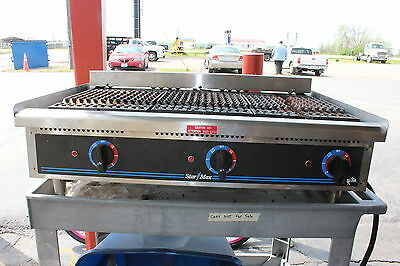 """Star Grill Max  36"""" Commercial Countertop Grill"""